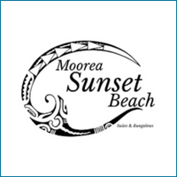 Moorea sunset beach