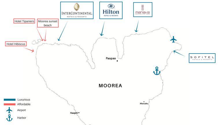 hotels moorea